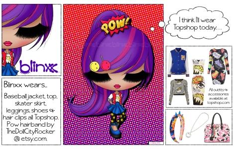 Blinxx, comic style!